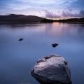 Dusk at Llyn Trawsfynydd