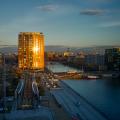 Media City reflected sunset-Edit-Facebook
